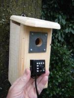 Backyard Birdhouse with HD Hawk Eye Cam