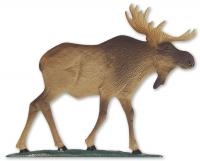 "30"" Moose Weathervane - Rooftop Color"