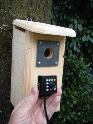 Backyard Birdhouse with HD Hawk Eye Cam