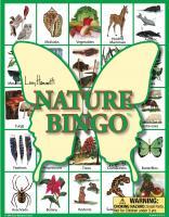 Lucy Hammett Nature Bingo