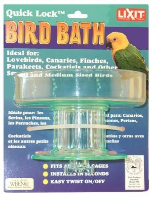 Quick Lock Bird Bath