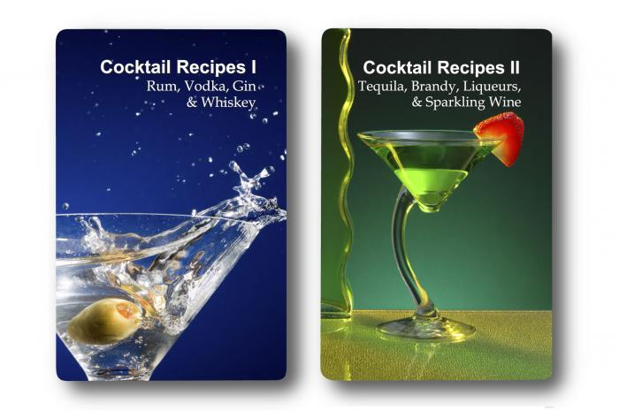 Finders Forum Double Deck Cocktail Recipes Playing Cards
