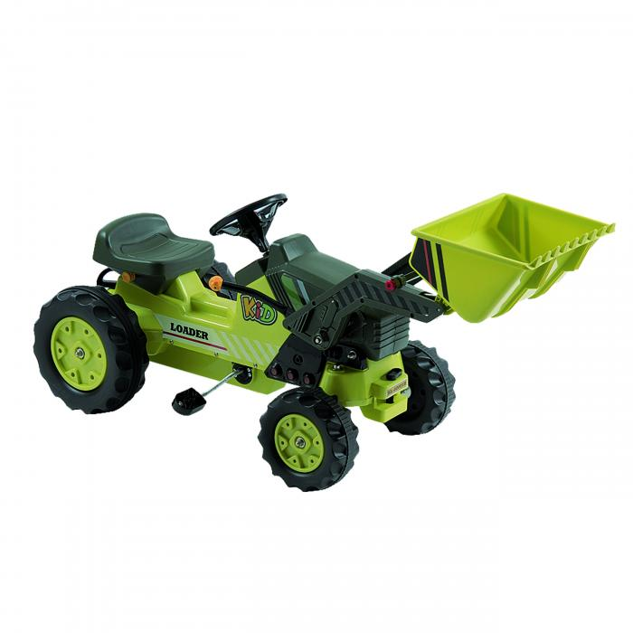Dexton Pedal Tractor with Loader