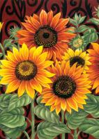 Toland Sunflower Medley House Flag