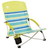 Coleman Beach Deluxe Low Sling Chair Citrus
