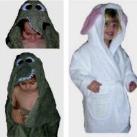 Crocodile Bath Robe