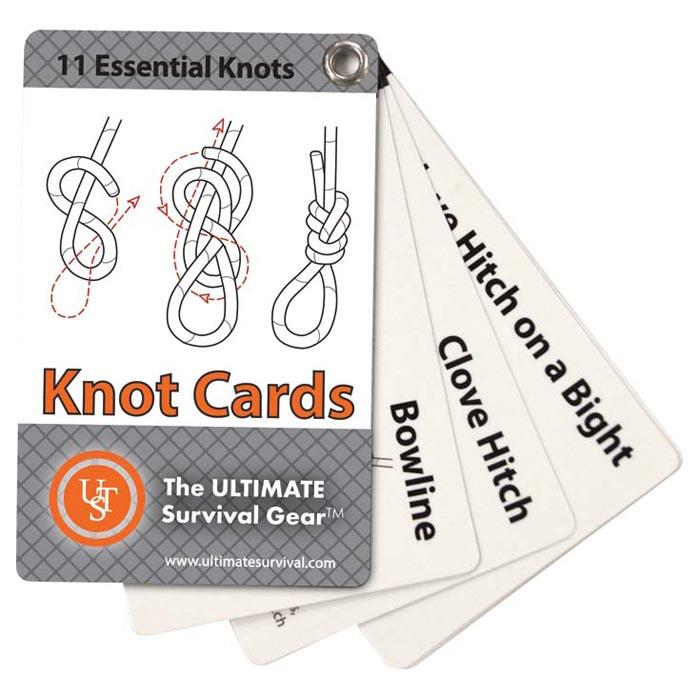 Ultimate Survival Knot Cards