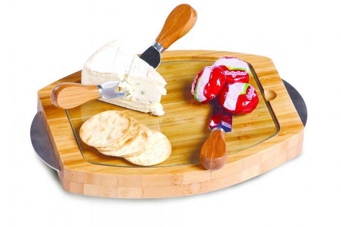 Picnic Plus Cambria Bamboo Cheese Board