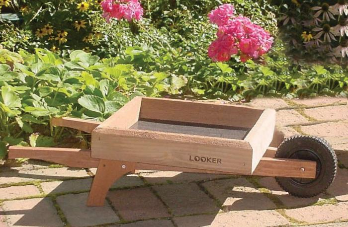 Songbird Essentials Wheelbarrow Ground Bird Feeder