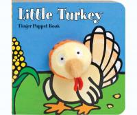 Chronicle Books Little Turkey Finger Puppet Book