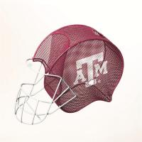 Evergreen Enterprises Texas A and M Helmet Cork Cage and Wine Bottle Holder