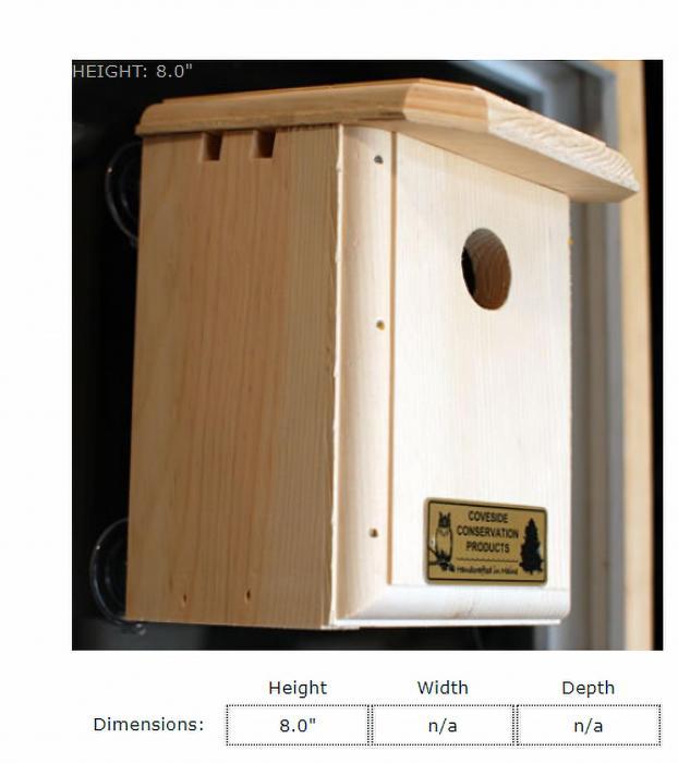 Coveside Window Nesting Box