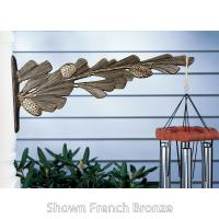 Pinecone Nature Hook - Copper Verdi