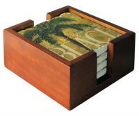 Counter Art Wooden Holder for Tumbled Tiles