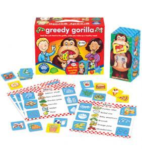 Greedy Gorilla Healthy Eating Game