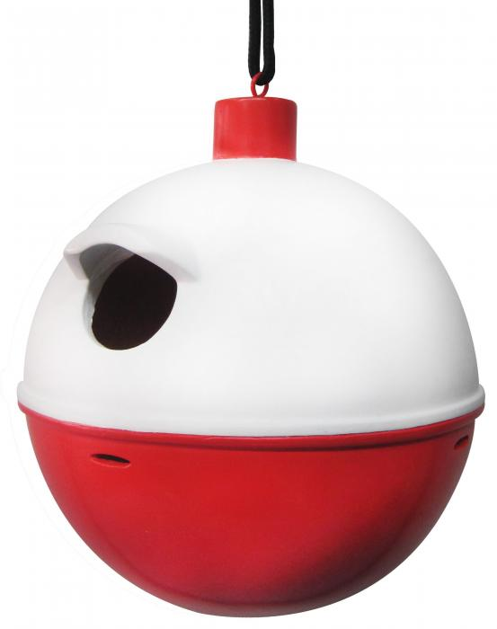 Outside-Inside Bobber Birdhouse