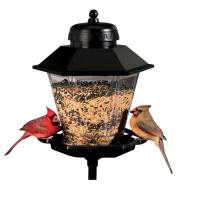 Artline Deluxe Coach Lamp Bird Feeder with 6 Foot Mounting Pole