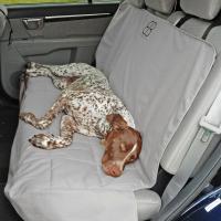Petego Car Seat Protector, Rear, Gray