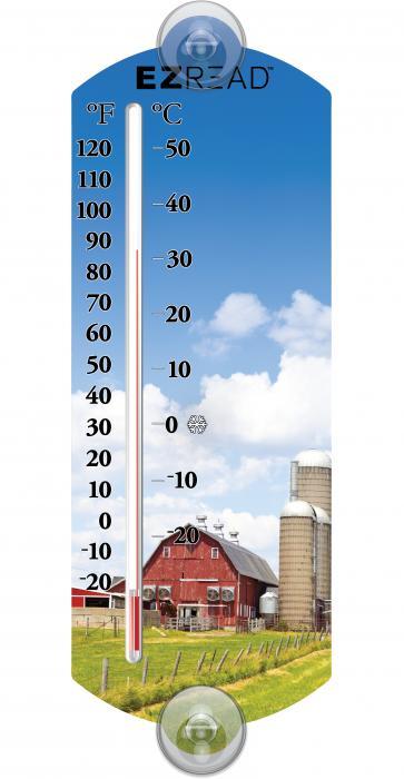 Headwind Farm Window Thermometer