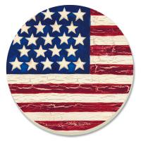 Counter Art Old Glory Coasters Set of 4