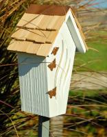 Heartwood Butterfly Bijou Butterfly House - White