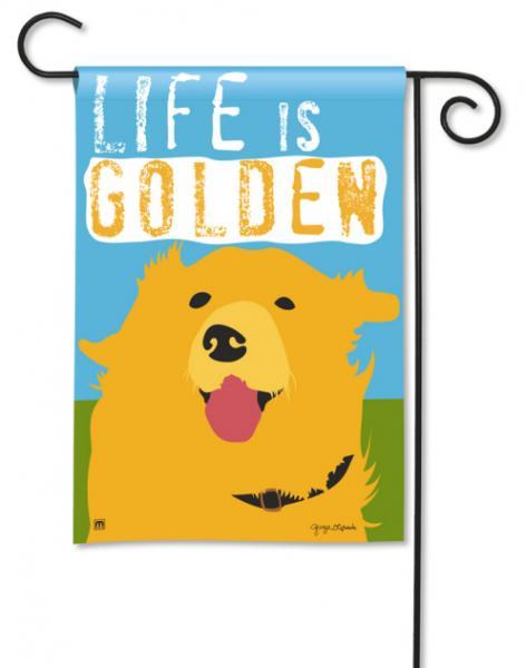 Magnet Works Life Is Golden Garden Flag