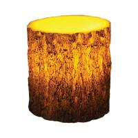 "Rivers Edge Products 4""x5"" Led Tree Bark Candle"