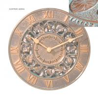 Whitehall Ivy Silhouette Thermometer - Copper Verdi