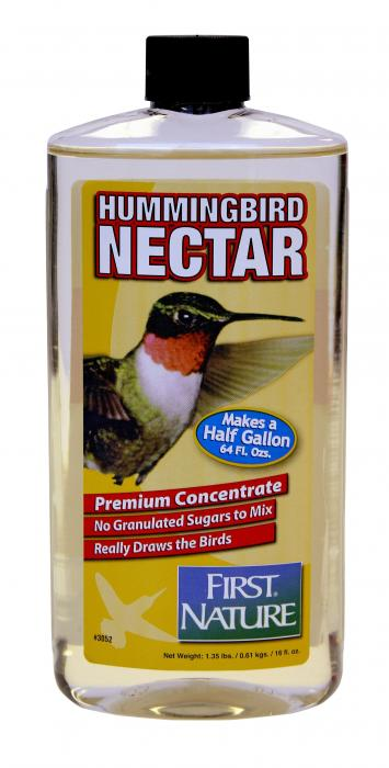 First Nature 16 oz Clear Hummingbird Nectar Concentrate