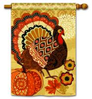Magnet Works Turkey Time Standard Flag