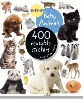 Workman Publishing Eyelike Baby Animals 400 Reusable Stickers