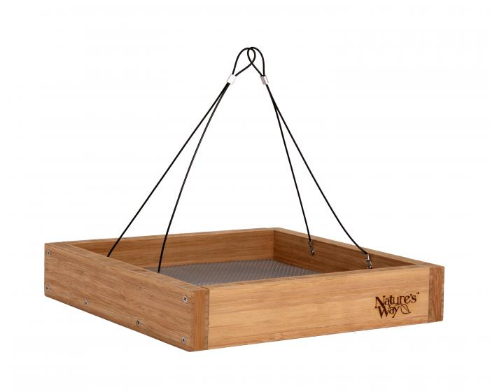 Nature's Way Bamboo Tray Bird Feeder