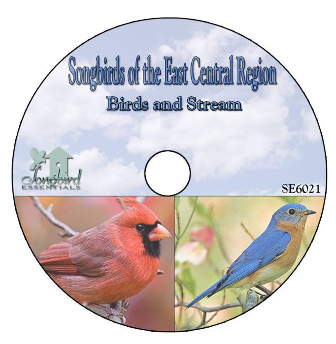 Songbird Essentials CD Songbirds of the East Central Region