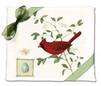 Alice's Cottage Cardinal Flour Sack Towel (set of 2)
