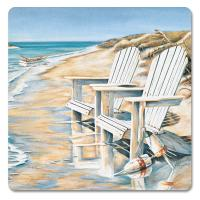 Counter Art Beach Days Hardboard Coasters Set of 4
