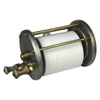 Antiqued Baitcast Reel ToiletPaper Holder