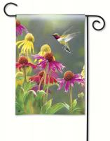 Magnet Works Hummingbird Heaven Garden Flag