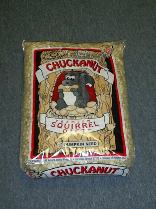 Chuck-A-Nut Premium Squirrel Food