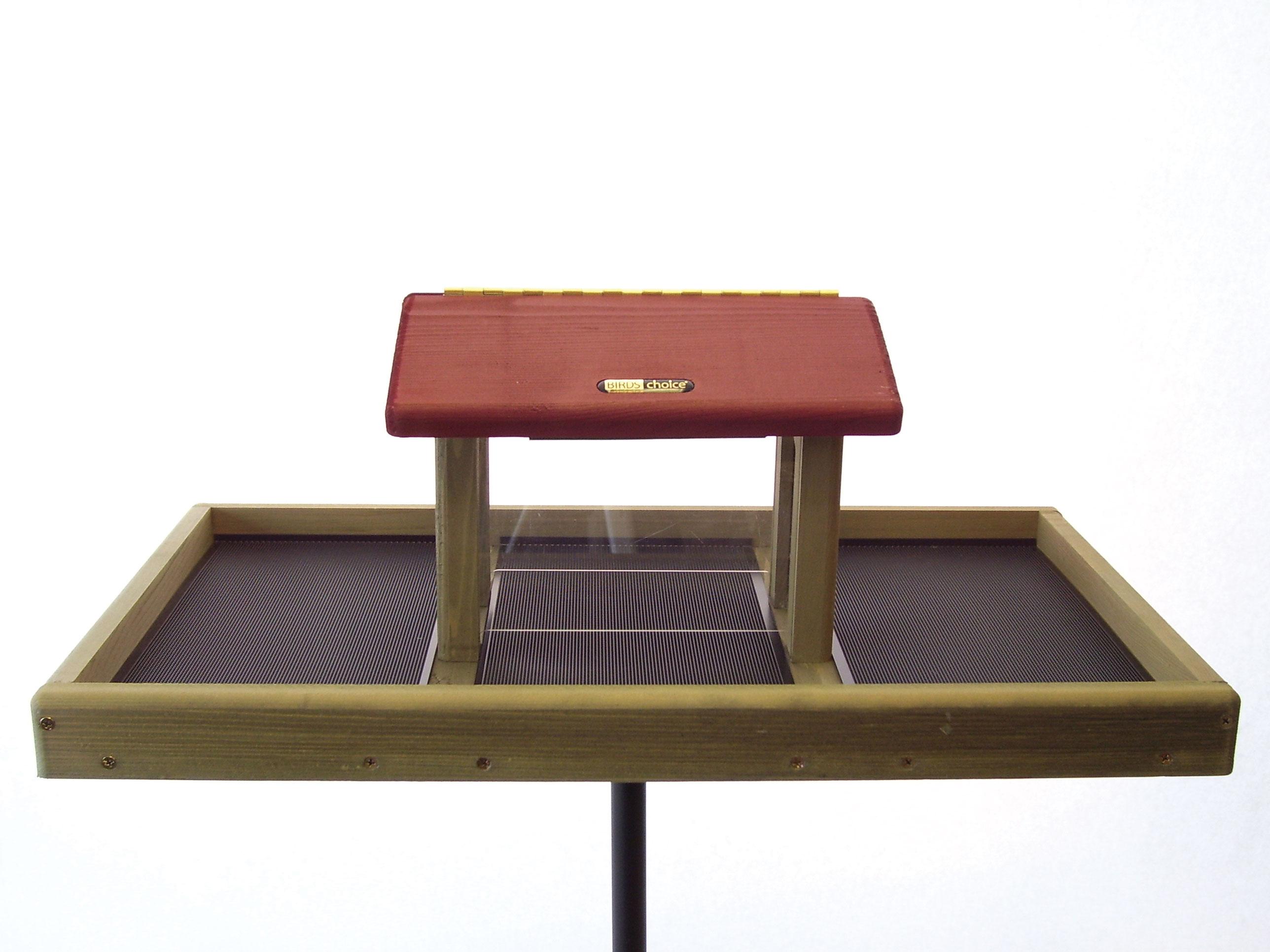 How To Build A Covered Platform Bird Feeder
