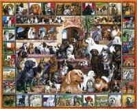 White Mountain World of Dogs Puzzle