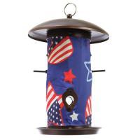 Toland Patriotic Bird Feeder