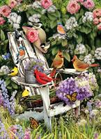 Outset Media Games Summer Adirondack Birds 1000 pieces