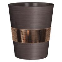 Nu Steel Selma Oil Brushed Bronze Wastebasket