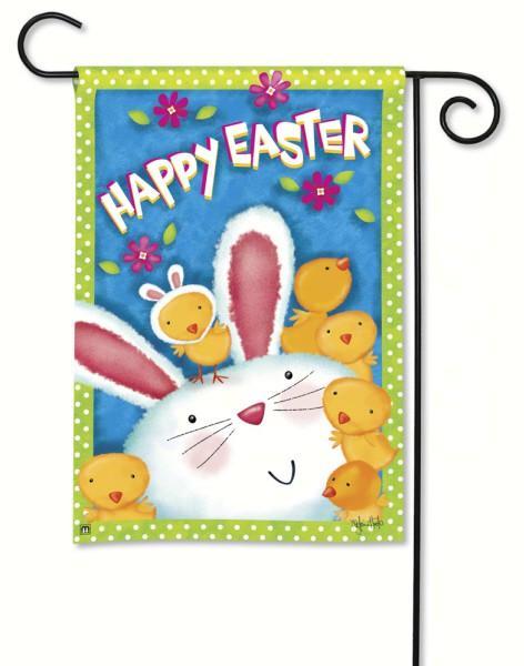Magnet Works Bunny Wanna Be Garden Flag