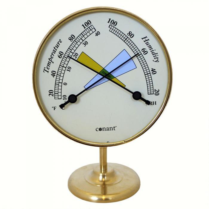 Conant Custom Brass Comfortmeter Living Finish Brass