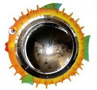 Anatex Blowfish Mirror Wall Panel