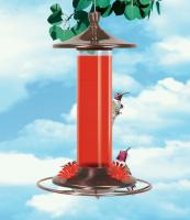 Perky Pet Glass and Metal Hummingbird Feeder