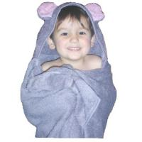 Mouse Critter Hooded Towel