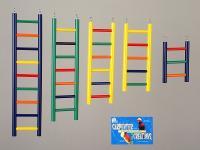"""Bird Wood Ladder 7 Rung 15"""""""