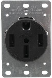 Pass & Seymour 3894/279 Single-Flush Range Receptacle